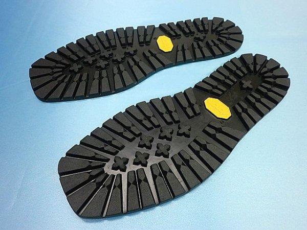 画像1: (2-2) ビブラムソール #1220黒 30、5cm (オールソール)