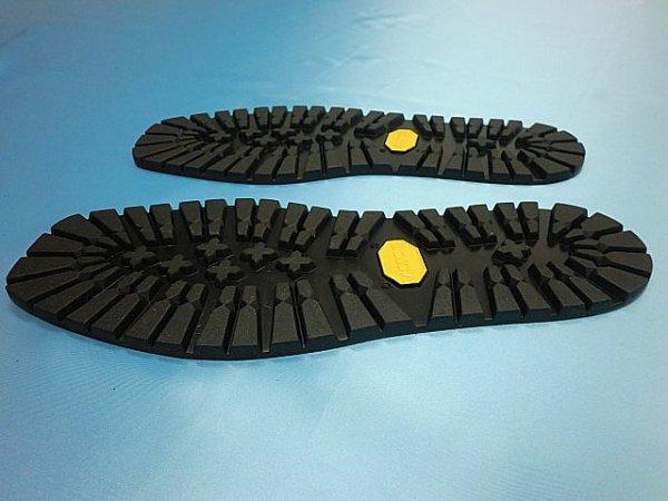 画像2: (2-2) ビブラムソール #1220黒 30、5cm (オールソール)