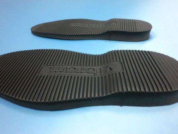 画像2: (6-1) ビブラムソール #2060黒 30cm (ユニット底)