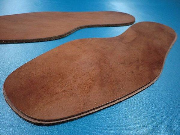 画像4: 革張り中底 (表面・エン革)