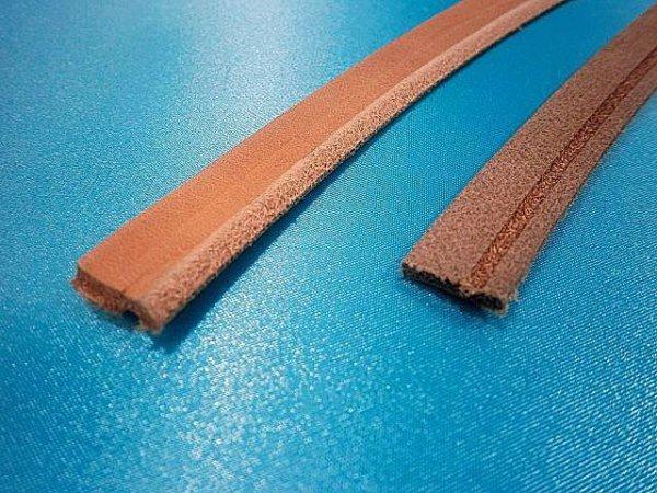 画像1: (2)ヌメ革・スクイ縫い用・シングル.