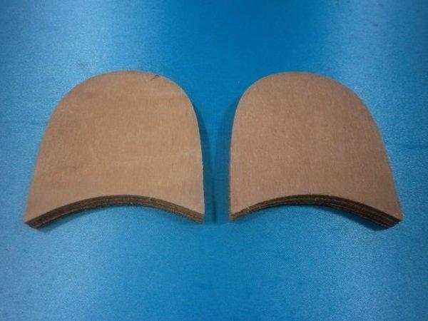 画像3: 積上げヒール(3枚貼り)