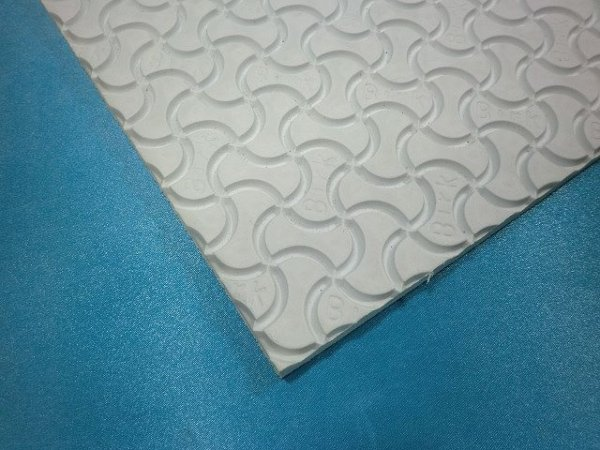 画像1: ビルケンシュトック・スポンジ板 10ミリ 白