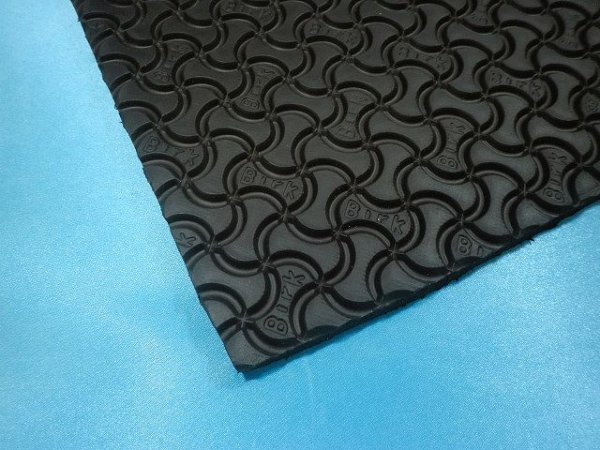 画像1: ビルケンシュトック・スポンジ板 7ミリ 黒