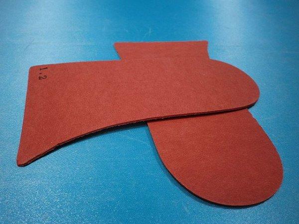 画像2: 赤ファイバー1.2ミリ、バッカー型