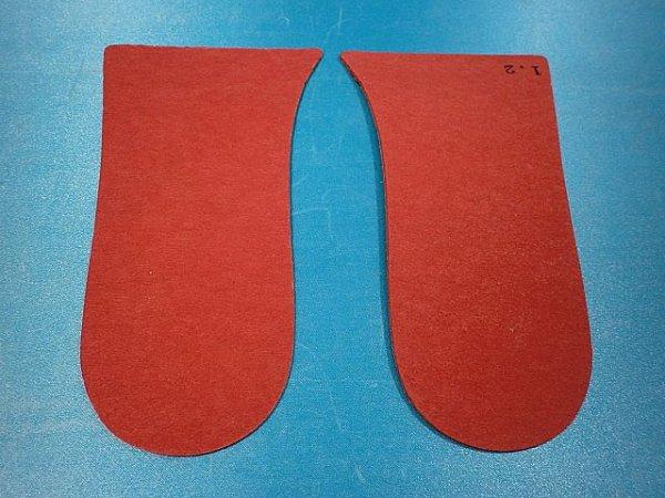 画像1: 赤ファイバー1.2ミリ、バッカー型