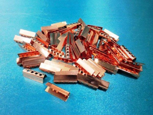 画像2: 金属セル・ピンクゴールド色(100個入)