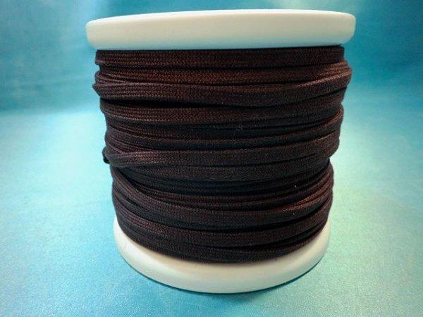 画像1: CK-540 綿平紐 (36)濃茶 カット売り