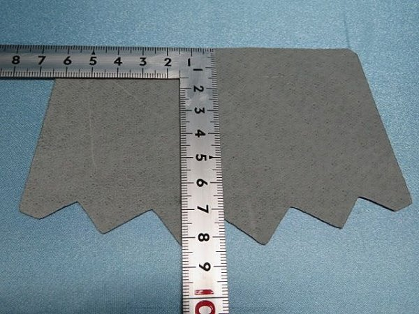 画像4: (12)スベリ 豚裏 フリー型5足セット グレー