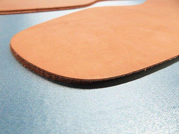画像3: 革張り中底 (表面・ヌメ革)