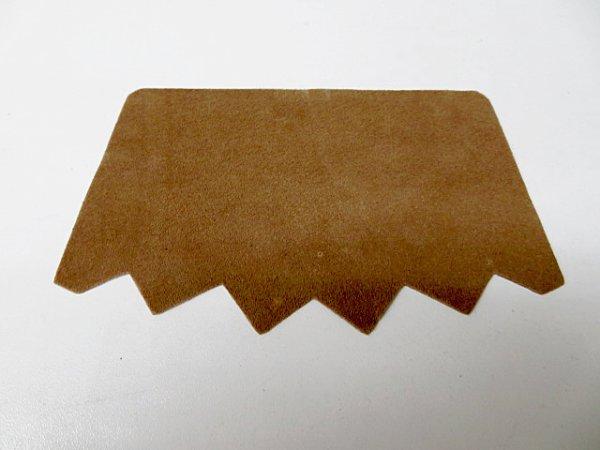 画像2: (13)スベリ 豚裏 フリー型5足セット うす茶