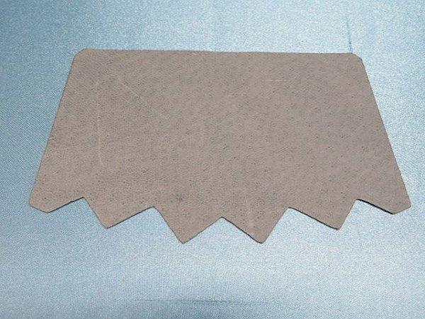 画像2: (12)スベリ 豚裏 フリー型5足セット グレー