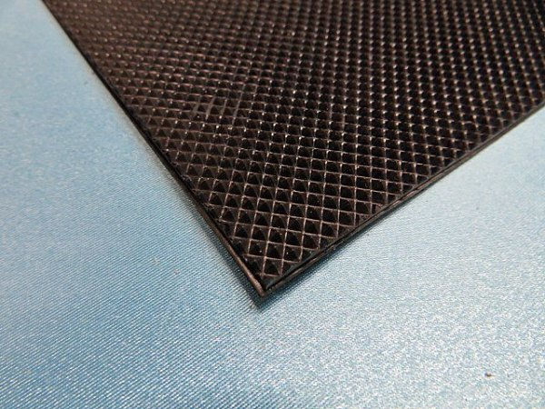 画像1: PS2,5 ピラミッド・半張りシート・黒