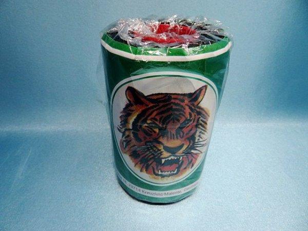 画像1: タイガー糸 0、8ミリ ワックス付き JK23(黒)