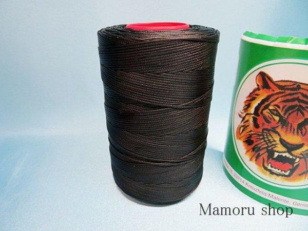 画像3: タイガー糸 0、8ミリ ワックス付き JK23(黒)
