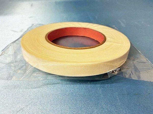 画像1: 綿テープC 12ミリ 白