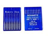 シュミッツミシン針 134 LR(平針)