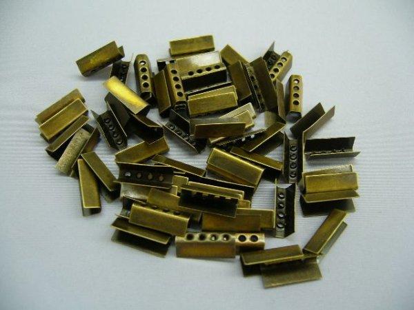 画像1: 金属セル・アンチック色(100個入)